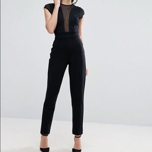 French Connection Marie Chiffon Jumpsuit